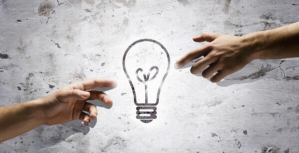 People's interaction and creativity. Having new ideas and inspiration
