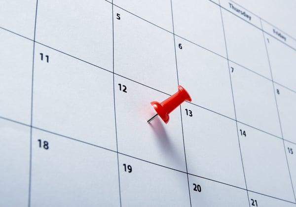 close up of a calendar-1